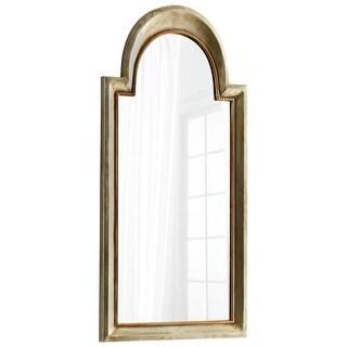 Cyan Design Barlow Mirror 44.75 x 22 Barlow Arched Iron and Wood Mirror