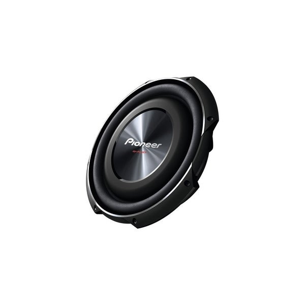 Pioneer TSSW3002S4 Pioneer TS-SW3002S4 Woofer - 400 W RMS - 1500 W PMPO - 20 Hz to 125 Hz - 4 Ohm - 93 dB Sensitivity -