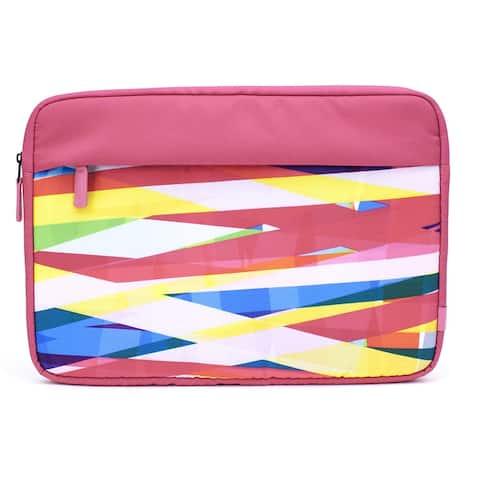 M-Edge International 13-Inch Tablet/Laptop Sleeve Pink Pattern