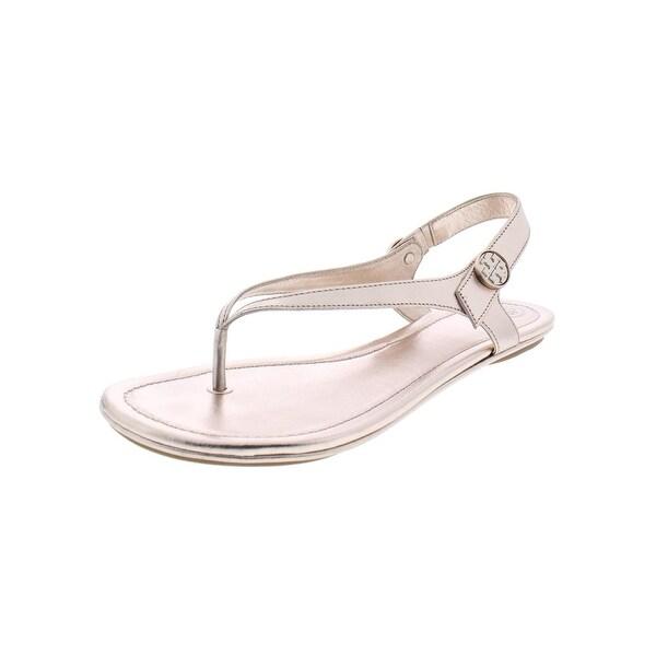631c0f774 Tory Burch Womens Minnie Travel Sandal Flat Sandals Flats Thongs - 8.5  Medium (B