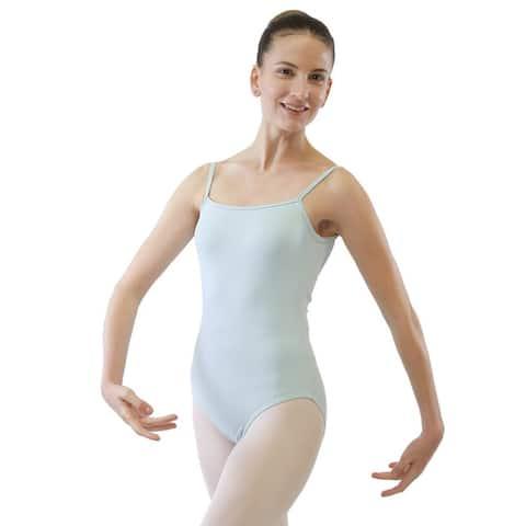 Veva by Very Vary Women Pastel Blue Bluebell Dance Leotard