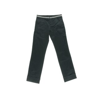 D&G Boys Poplin Cuffed Casual Pants