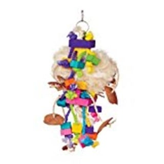 Prevue Pet Products 48081623756 Bodacious Bites Tough Puff Bird Toy