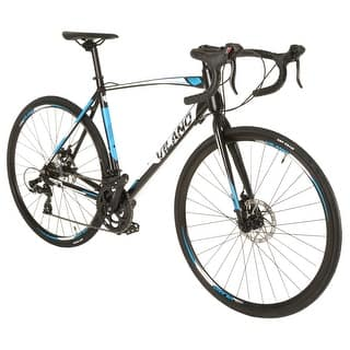 Vilano Shadow 3.0 Road Bike Shimano STI Integrated Shifters, Dual Disc Brakes|https://ak1.ostkcdn.com/images/products/is/images/direct/0435f06a5c3fb87cbe01414f70455c2d43396364/Vilano-Shadow-3.0-Road-Bike-Shimano-STI-Integrated-Shifters%2C-Dual-Disc-Brakes.jpg?impolicy=medium