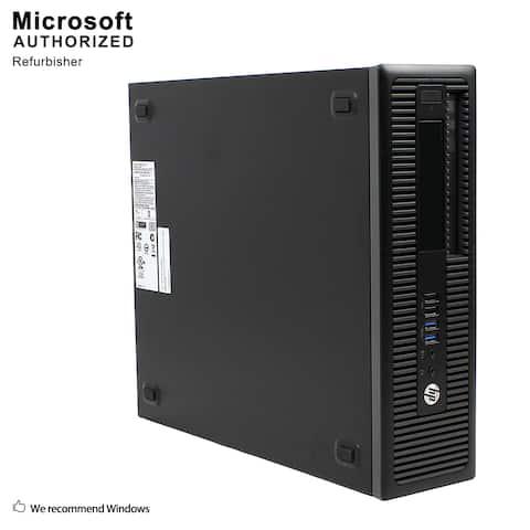 HP 705 G1 SFF, AMD A10 7800B 3.5G, 8GBDDR3, 360GB SSD, DVD, WIFI, VGA, DP Port, HDMI, USB 3.0, BT 4.0, W10P64(EN/ES)-Refurbished