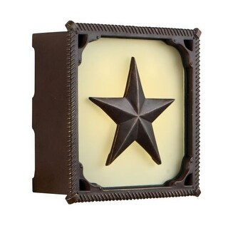 """Craftmade ICH1635 8.44"""" x 8.44"""" Square LED Chaparral Door Chime 2 Note Tone"""