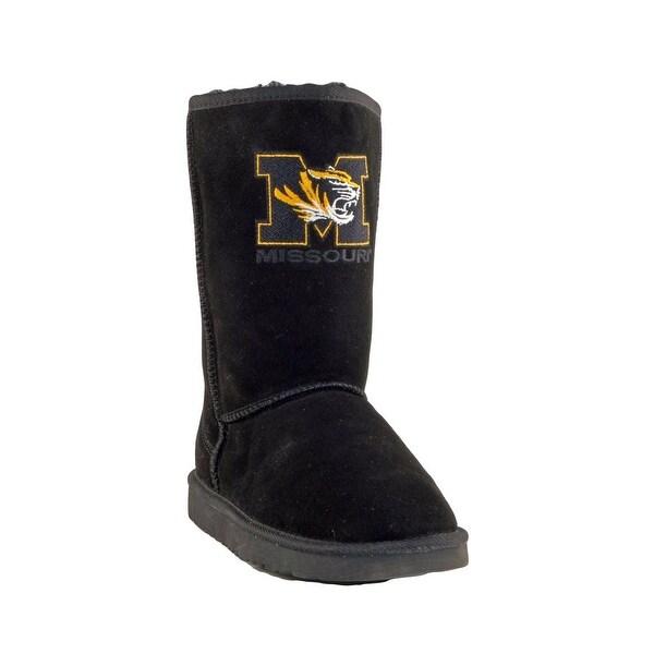 Gameday Boots Womens U Of Missouri Tigers Roadie Black MIS-RL1057-2