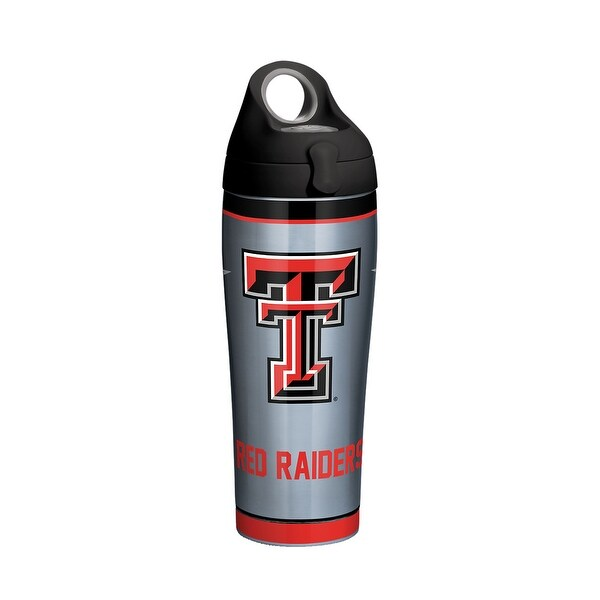 NCAA Texas Tech Red Raiders Stainless Steel Water Bottle