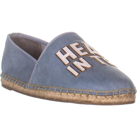 Circus by Sam Edelman Leni Espadrilles Flats, Blue Denim Cloud