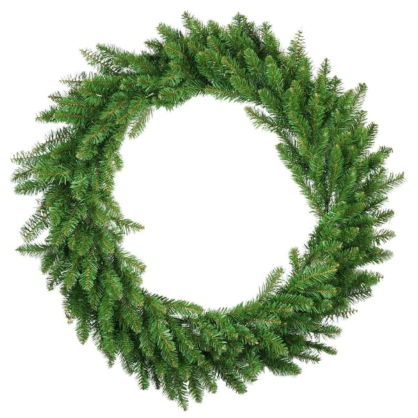 "36"" Eastern Pine Artificial Christmas Wreath - Unlit - green"