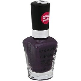 Wet n Wild MegaLast Salon Nail Color, Disturbia 0.45 oz