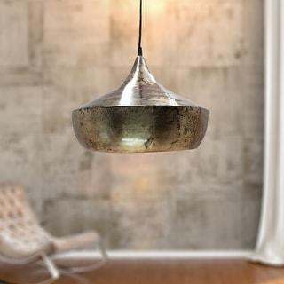 Carbon Loft Hoesl 14.5-inch Metal Sphere 1-light Pendant