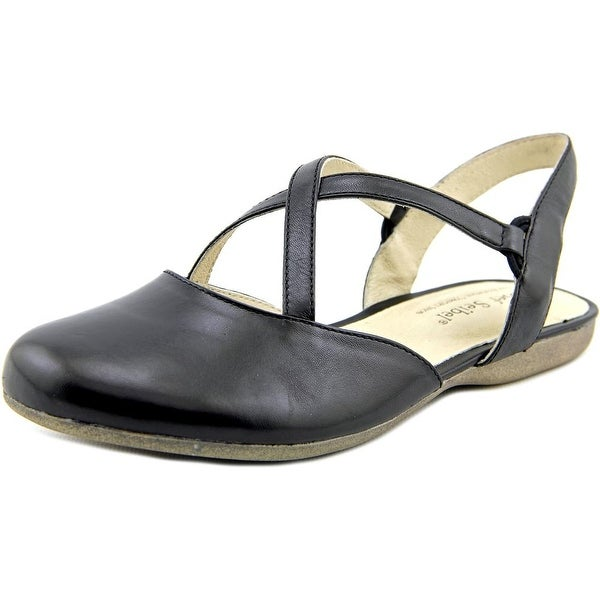 Josef Seibel Fiona 13 Round Toe Leather Mary Janes