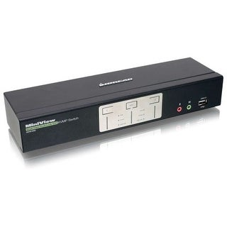 Iogear Gcs1642 2 Port Dual View Dual Link Dvi Kvm Switch With Audio