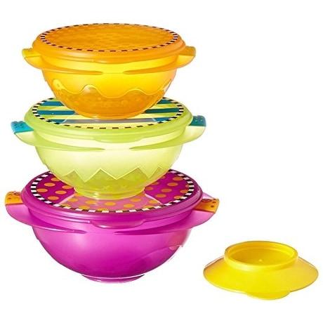 Sassy On-the-Go Snack Bowl Set