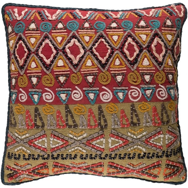 Decorative Ringwood Multi 20-inch Throw Pillow Cover. Opens flyout.