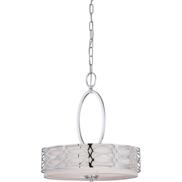 "Nuvo Lighting 60/4620 3-Light 17-3/4"" Wide Pendant - Polished Nickel - n/a"