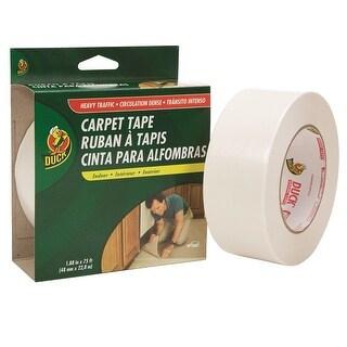 "Duck 442061 Heavy Traffic Carpet Tape, 1.88"" x 75'"