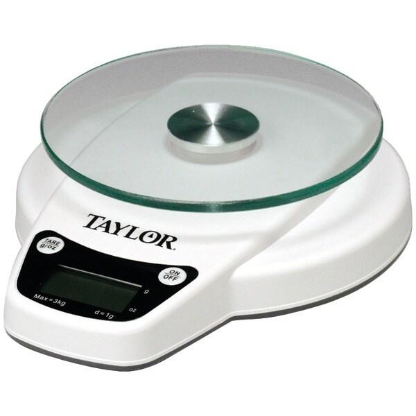 Taylor 3800N 6Lb Capacity Digital Kitchen Scale