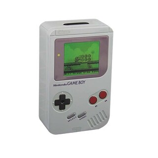 Nintendo Gameboy Tin Money Box - Multi