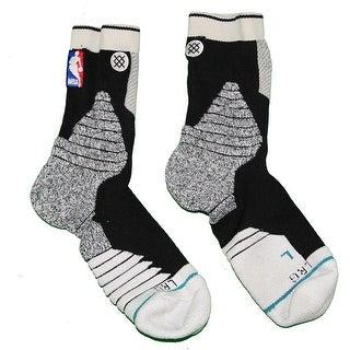 Shane Larkin Brooklyn Nets 201516 Game Used 0 Black and Grey Socks