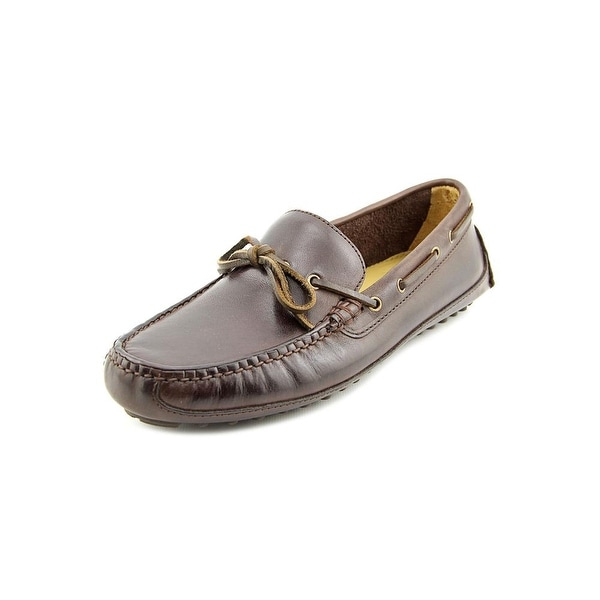 19ee70ce189 Shop Cole Haan Grant Canoe.Camp.Moc Men Round Toe Leather Brown ...