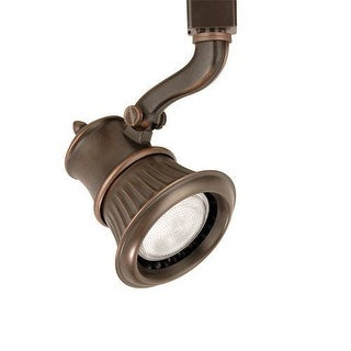"""WAC Lighting HTK-793 Rialto Line Voltage 8.125"""" Wide 1 Light Track Head for H-Track Track Systems"""