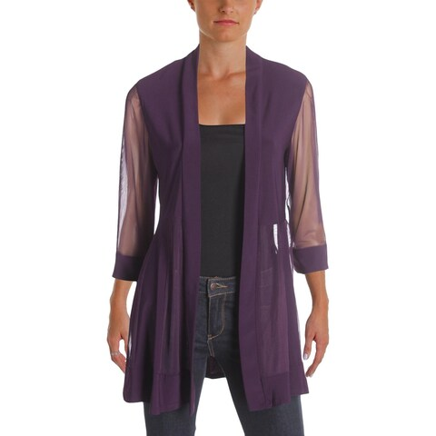 R&M Richards Womens Jacket Illusion 3/4 Sleeves