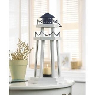 Wooden Light House Lantern