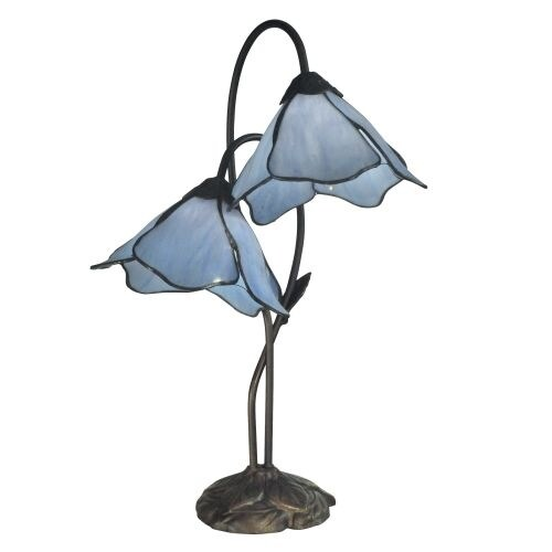 Dale Tiffany TT12147 Poelking 2 Light Table Lamp