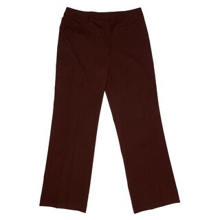 Lafayette 148 New York Zip Fly w/ Button Work Pants Women Regular Work Pants