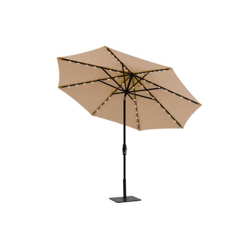Clihome 10 ft Octagon Outdoor Market Umbrella,Base Not Included