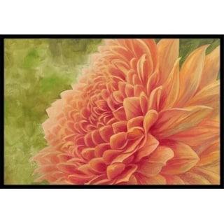 Carolines Treasures TMTR0232JMAT Floral by Malenda Trick Indoor or Outdoor Mat 24 x 36