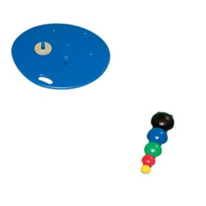 Multi-Axial Positioning System Board, 5-Ball Set, 2 Weight Rods  & strength
