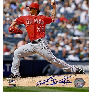 Signed Wilson CJ Los Angeles Angels 8x10 Photo autographed
