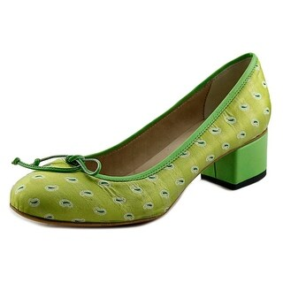 Pantofola d'Oro BL97-D Round Toe Canvas Heels