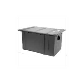 Zurn GT2702-50 50 G.P.M. 100 Lbs Capacity Polyethylene Grease Interceptor