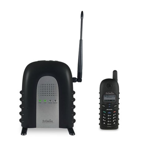 EnGenius DuraFon 1X Industrial Cordless Phone System w/ Unmatched Wireless Coverage