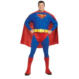 Deluxe Superman Muscle Mens Big & Tall Costume 46-52 - big & tall