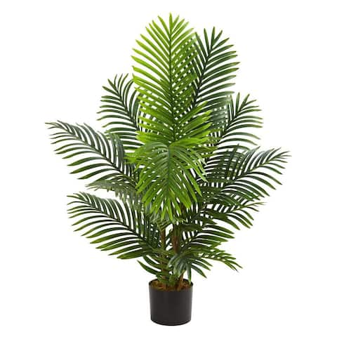 Nearly Natural Home Decorative 4' Paradise Palm Artificial Faux Tree - Not Available
