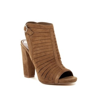 Carlos by Carlos Santana Womens Scout Leather Open Toe Casual Ankle Strap San...
