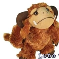 Jim Henson's Labyrinth Ludo Plush by Toy Vault