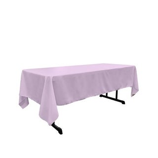 TCpop60x102-LilacP45 Polyester Poplin Rectangular Tablecloth,