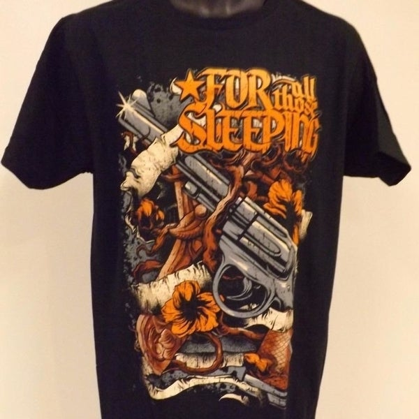 Men/'s Lot Of 4 Band T-shirts Size XL// New