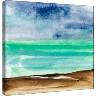 "PTM Images 9-100978  PTM Canvas Collection 12"" x 12"" - ""Shore Vi"" Giclee Coastlines Art Print on Canvas"