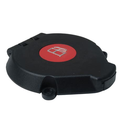 Perko vented flip-top cap black