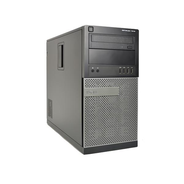 Dell Optiplex 7010 Core i5-3470 3.2GHz 8GB RAM 500GB HDD DVD-RW Win 10 Pro Tower PC (Refurbished)