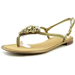 Marc Fisher Rady 3 Open Toe Leather Thong Sandal