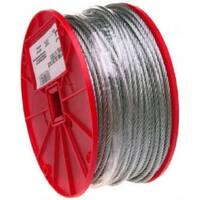 """Campbell 7000627 Galvanized Cable, 3/16"""" x 250'"""