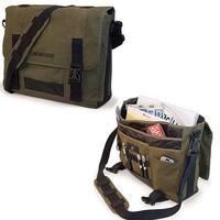 "Mobile Edge 17.3"" Eco-Friendly Canvas Messenger Bag"